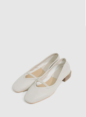 [무료배송] Strap ballerina flat shoes-모스빈