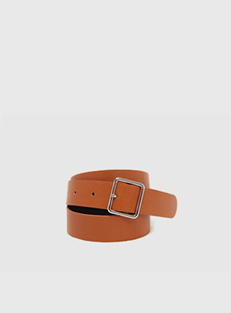 Basic square belt-모스빈