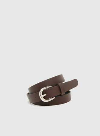 Basic simple belt-모스빈