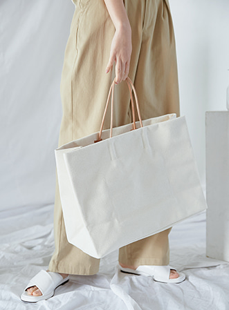 [무료배송] Angulate large tote bag-모스빈
