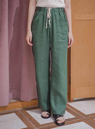 [무료배송] Comfortable wide pants-모스빈